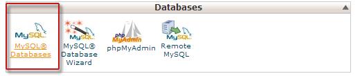 createdatabasecpanel - انتقال و بارگذاری وردپرس از کامپیوتر به سرور وب سایت