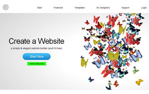 طراحی صفحات وب رایگان