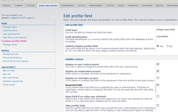 امنیت وب سایت phpbb